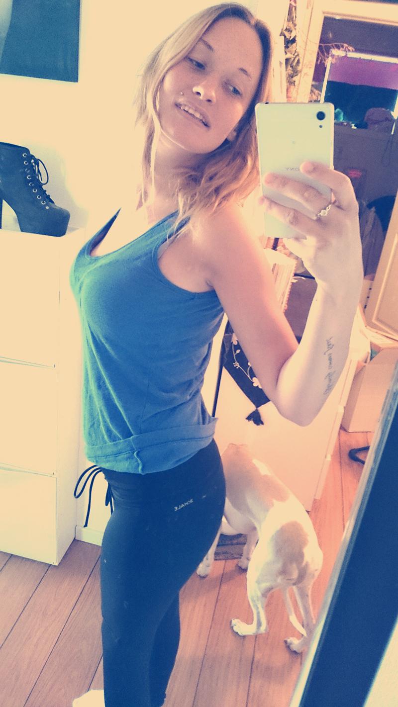 mammablogger trene hjemmefra fitness